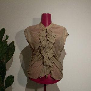 Sandra Angelozzi Vintage-Inspired Blouse